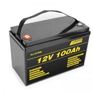 LiFePO4 Batería de batería de ciclo profundo de célula de litio 12v 100ah