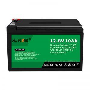 Paquete de baterías de ión de litio de recambio de ácido de chumbo LiFePO4 de 12,8V 10Ah 12V 10Ah