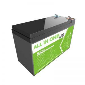 Substitúe a batería de xel de ácido de chumbo 12V 10Ah Batería de ión de litio por pequeno almacenamento de enerxía
