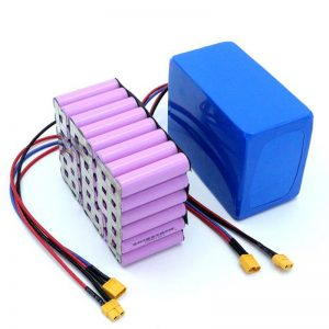 Prezo de fábrica 18650 Batería de litio recargable de iones de litio de alta potencia de 12V para batería