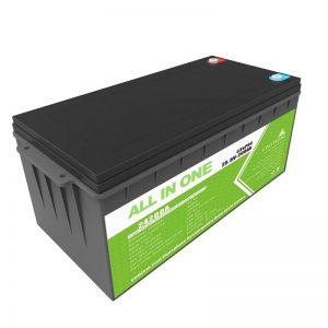 Batería LiFePO4 de 12,8 v 200ah recargable de longa duración para cesta de golf