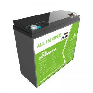 Batería de litio ácido de chumbo recambio ALL IN ONE de 12,8V20Ah
