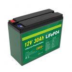 Batería OEM recargable 12V 30Ah 4S5P litio 2000+ fabricante de células Lifepo4 de ciclo profundo