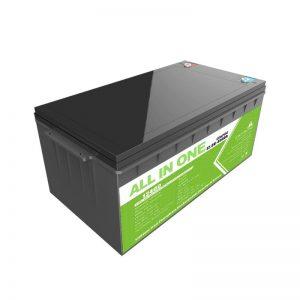 Batería recargable de ciclo profundo de alta capacidade de 12,8 v 400ah Lifepo4 batería de iones de litio
