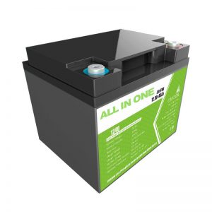 Prezo de fábrica 12,8V 40Ah substitución de chumbo-ácido para almacenamento de enerxía de electrodomésticos
