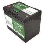 Batería de litio recargable de 12 voltios con batería de litio de 70ah almacenamento solar