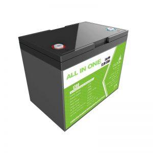 Batería de iones de litio Hotsale 12,8V 80Ah para almacenamento de enerxía solar fonte de alimentación de reemplazo batería de chumbo ácido longa vida útil