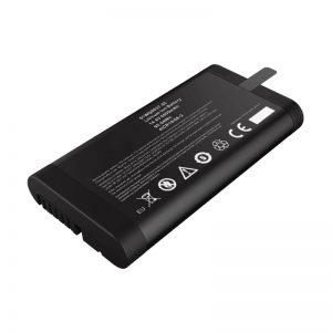 Batería de 14,4 V 6600 mAh 18650 de iones de litio Panasonic para probador de rede con porto de comunicación SMBUS