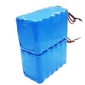 Venta quente batería recargable 18650 alta profundidade ciclo 24 voltios batería de ión de litio para bicicleta eléctrica