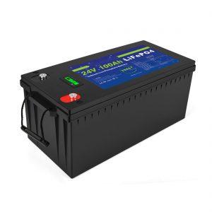 Batería de ión de litio de ciclo profundo Batería de almacenamento solar Lifepo4 24v 200ah 3500+ ciclos de batería de ión li