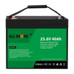 Batería / recambio de litio-ferro fosfato 25,6V 40Ah