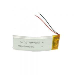 Batería personalizada LiPO 302045 3.7V 260mAh