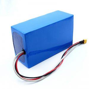 Paquete de batería eléctrica recargable de litio 36V 10Ah Li -on 18650