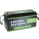 Outlet Factory Safety Design Long Life Marine 36v 60ah Battery Lifepo4