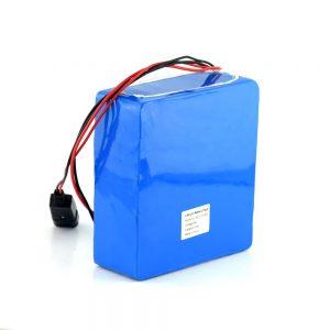 Batería recargable de iones de litio 48V 15Ah 20Ah Batería de bicicleta eléctrica de 48 voltios