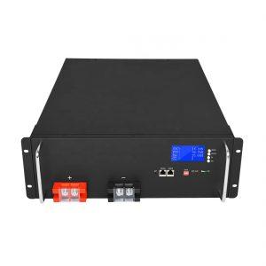 Batería de ión de litio de alta enerxía 48V 50Ah LiFePO4 para sistemas de almacenamento de enerxía solar