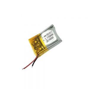 Batería de polímero de litio de alta calidade 3.7V 50mAh 581013