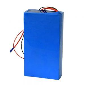 Batería de litio recargable de 60v 12ah para scooter eléctrico