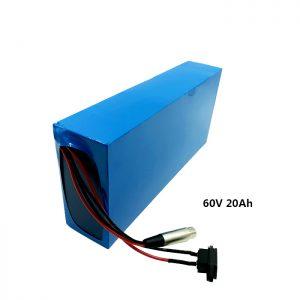 Batería de recarga personalizada 60v 20ah batería de litio EV