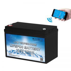 Batería LiFePO4 de baixa temperatura 12V 100AH