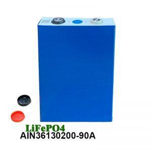 Batería prismática LiFePO4 3.2V 90AH batería recargable para células lifepo4 para ferramentas eléctricas para automóbiles cadeira de rodas