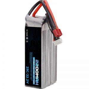 venda quente batería de polímero de litio recargable 22000 mah 6s lipo