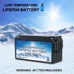 Presentando TODAS EN UNAS Baterías de fosfato de ferro de litio de baixa temperatura