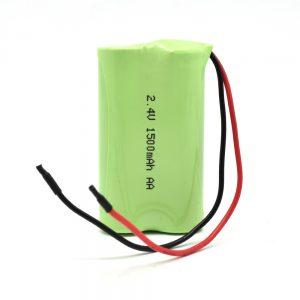 Batería recargable NiMH AA1500mAh 2.4V