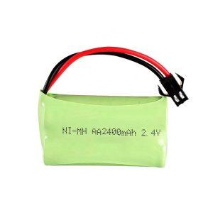 Batería recargable NiMH AA2400mAH 2,4V