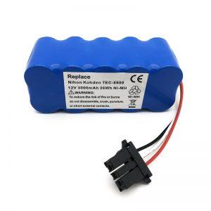 Batería ni-mh de 12 v para aspirador TEC-5500, TEC-5521, TEC-5531, TEC-7621, TEC-7631